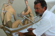 Bo Bartlett Andrew Wyeth Art, American Realism, Bo Bartlett, You Draw, Artist At Work, Paintings, Artists, Figurative, Studios