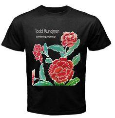 Todd Rundgren Something/Anything? Black T-Shirt