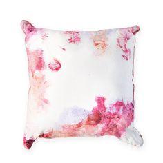 pink rose cushion sarah blythe