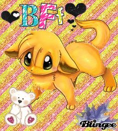 cute anime animal