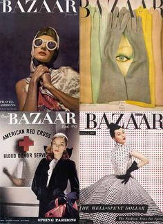 Diana Vreeland covers for Harpers Bazaar