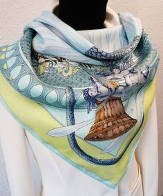 Lovely Amours Hermes scarf by Annie Faivre