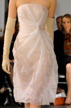 Christian Dior  Spring 2012 sheer stunning white