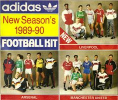 Adidas football kits for Football Ads, Classic Football Shirts, Football Design, Adidas Football, Vintage Football, Football Jerseys, Football Boots, Football Things, Football Stickers