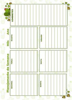 Caderno de Planejamento para Professores Planejamento da Semana Cactos