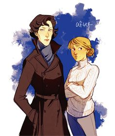 Gender Swap Sherlock