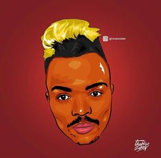 Somizi art by #thabisodbn #coolestinthecity #Graphicdesign #GraphicArt #illustrator #illustration #photoshop #artwork #artist #sa #housemusic #gqomtrap #trap #trapmusic #kwaito #hiphop #h #durban #fash #cool #colorful #colours #type #typography #saartist #red #yellow #fashionupdates