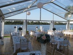 Clear roof Marquee, Prestige Party Hire