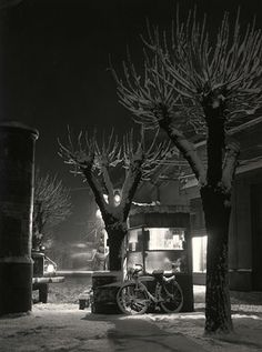 Zoltán Berekméri, Winter's Evening in Békéscsaba, 1955