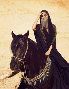 Arabian Women, Arabian Beauty, Hijabi Girl, Girl Hijab, Fashion Moda, Covet Fashion, Girl Photography, Fashion Photography, Arab Fashion