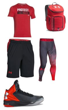 """Untitled #125"" by jamison24 on Polyvore featuring Under Armour, men's fashion and menswear"