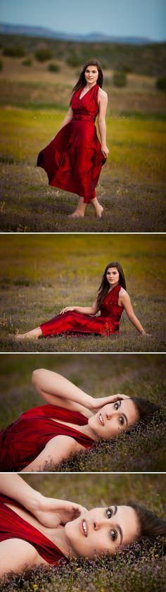 The Red Dress {Kingman Teen Photographer | Las Vegas Teen Photographer}