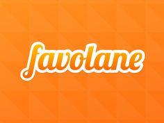 Favolane Logo for Dribbble Sticker Contest