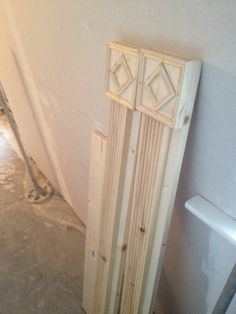 Made my own window frames and architraves from various wood profiles