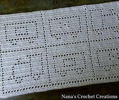 "Ravelry: Nana's ""Little Chuggers"" Blanket pattern by D Maunz Crochet Baby Blanket Free Pattern, Baby Afghan Crochet, Manta Crochet, Crochet Bear, Afghan Crochet Patterns, Crochet Blankets, Baby Afghans, Bear Blanket, Crochet Carpet"