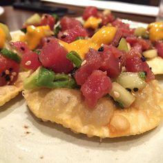 Chipotle avocado tuna! At P.F Chang's