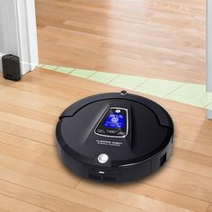 Highlights The Sleek and stylish robotic vacuum cleaner helps clean tiles…