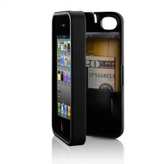 iPhone case with storage compartment