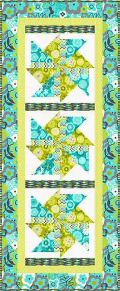 Fun and easy quilt pattern!  A Twist of Lime Table Runner Pattern BS2-420 (advanced beginner, home decor & houseware)  Check out our bed runner patterns. https://www.pinterest.com/quiltwomancom/bed-runners/  Subscribe to our mailing list for updates on new patterns and sales!   http://visitor.constantcontact.com/manage/optin?v=001nInsvTYVCuDEFMt6NnF5AZm5OdNtzij2ua4k-qgFIzX6B22GyGeBWSrTG2Of_W0RDlB-QaVpNqTrhbz9y39jbLrD2dlEPkoHf_P3E6E5nBNVQNAEUs-xVA%3D%3D