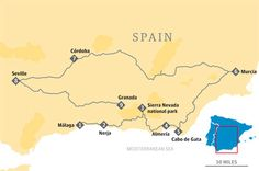 Road Trip for Andalucia and other Spanish itineraries available with the link