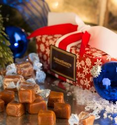 Gift Item | Sea Salt Caramels in a Snowflake Gift Box. Just right for that special HOME! Send one to yourself and one to a friend, today! SOC ID 72492