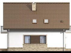 DOM.PL™ - Projekt domu ARN Tamarillo 3 CE - DOM RS1-74 - gotowy koszt budowy Garage Doors, Outdoor Decor, Home Decor, Cabin, Decoration Home, Room Decor, Home Interior Design, Carriage Doors, Home Decoration