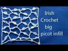 Irish Crochet Basics, The Clones Knot ground - YouTube