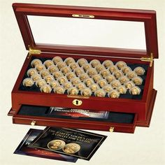The Complete Collection of Proof Golden Dollars