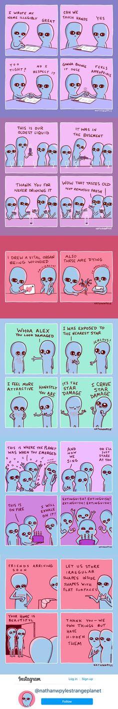 Funny Pins, Funny Cute, Funny Jokes, Hilarious, Funny Stuff, Stupid Memes, Planet Comics, Funny Diet Quotes, Comics
