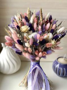 Раскидистый букет Dried Flower Bouquet, Flower Bouquet Wedding, Dried Flowers, My Flower, Flower Power, Dried Flower Arrangements, Flower Aesthetic, Flower Decorations, Planting Flowers