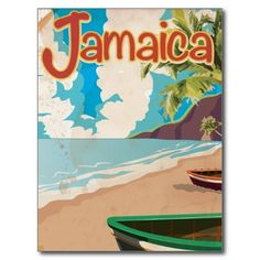 vintage travel posters jamaica - Google Search