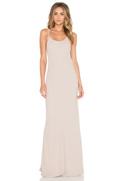 Helena Quinn Celine Slip Dress in Champagne | REVOLVE