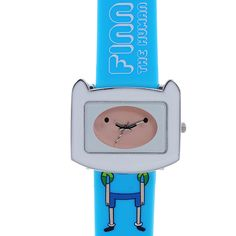 This sleek Adventure Time watch features a comfortable strap and the character of Finn the Human. With colorful hands and wide dial, this watch is the perfect way to stay on time and show off your personality.