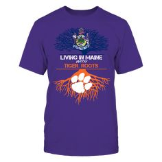 Clemson Tigers - Living Roots Maine