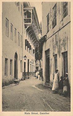 Main Street Zanzibar