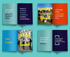 University of Nottingham Students' Union, brand design | m360