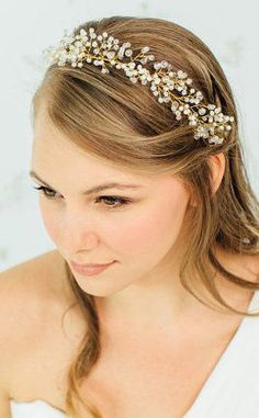Wedding Hair Wreath / Bridal Hair Accessories