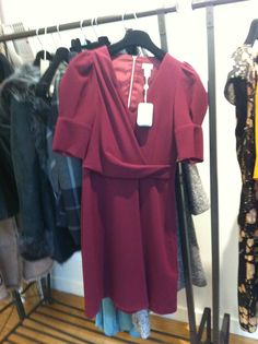 wine Hoss Intropia dress @arnottsdublin
