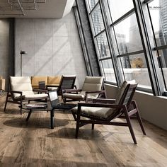 IN_WOOD The charm of wood is combined with the reliability of porcelain stoneware featuring the most advanced technical performance to create a collection with the versatility of natural materials, able to blend in with the most diverse interiors.  Porcelain Tile Wood Effect