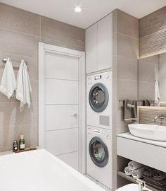 25 most popular basement bathroom remodel for small space 00020 - Bathroom Ideas Laundry Room Bathroom, Bathroom Plans, Laundry Room Design, Basement Bathroom, Small Bathroom, Master Bathrooms, Bathroom Ideas, Bathroom Organization, Bathroom Storage