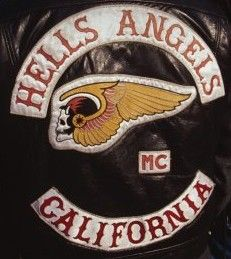 Hells Angels Back Patch - California