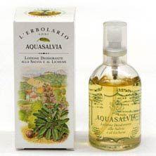 Desodorante Aqua Salvia. Sin aluminium