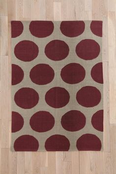 Magical Thinking Giant Dot Rug #urbanoutfitters