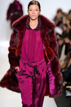 Dennis Basso Multi Dyed Russian Sable Fur Coat