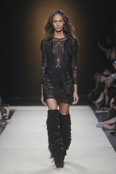 Isabel Marant, Fall 2011 - This Is Why Joan Smalls Rules the Runway - Photos