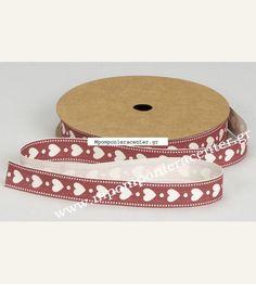 Κορδέλα βαμβακερή οικολογική με καρδούλες κόκκινη Belt, Accessories, Fashion, Belts, Moda, Fashion Styles, Fashion Illustrations, Jewelry Accessories
