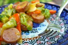 Sausage and potatoes Au Gratin. Nom!