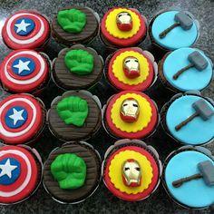 #cupcakes #cupcakesvingadores #cupcakesrecife