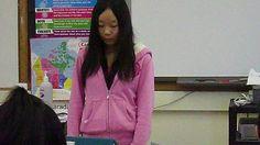 Yingxue, Wu Reading an English story to the class English Story, Blazer, Reading, Jackets, Women, Fashion, Down Jackets, Moda, Story In English
