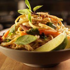 One Pot Thai Peanut Sesame Noodles